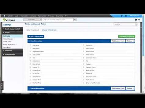 youtube layout editor vtiger 6 layout editor youtube