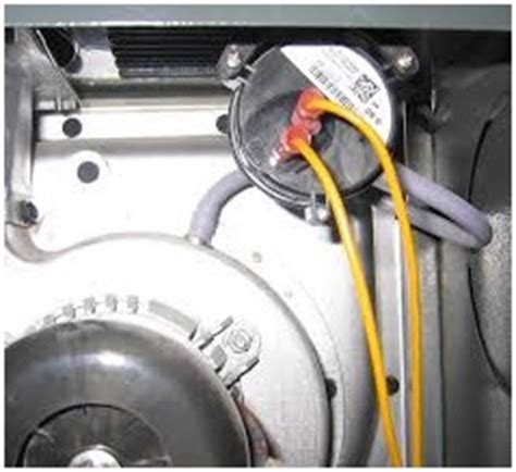 inducer fan function what is a furnace draft inducer motor and pressure switch hvac how to