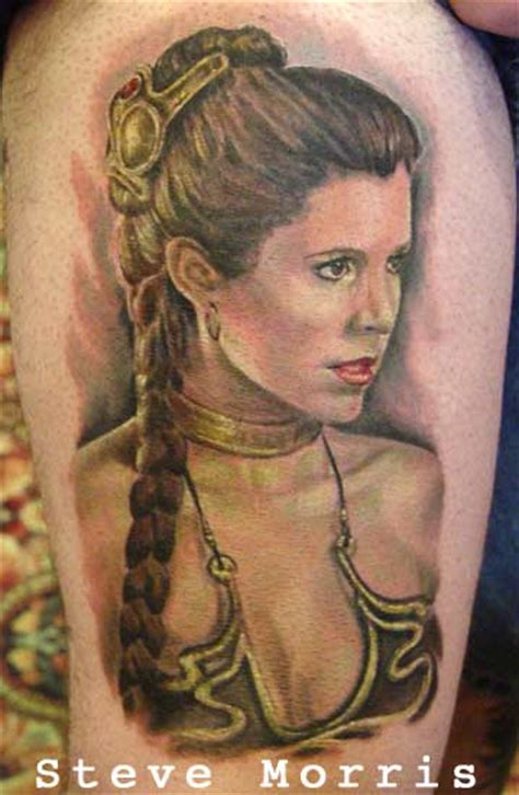 princess leia tattoo wars design ideas and history