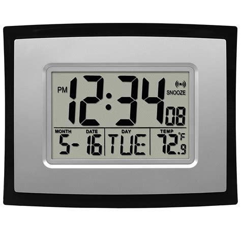 Room Decor Fancy Desktop Alarm startling digital wall clocks home design ideas