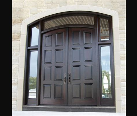 outside doors exterior doors double entry doors amberwood doors inc