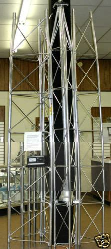universal 9 40 self standing supporting 40 foot aluminum antenna tower ebay