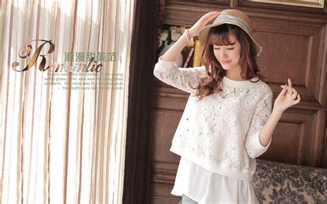 Baju Atasan Brokat baju atasan brokat wanita model terbaru jual murah import kerja