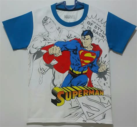 kaos anak superman is back 1 6 grosir eceran baju anak