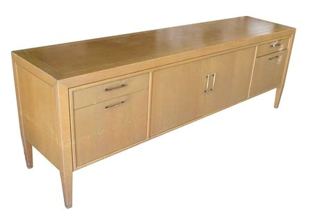 writing desk with matching credenza paul evans style brutalist executive desk and credenza for