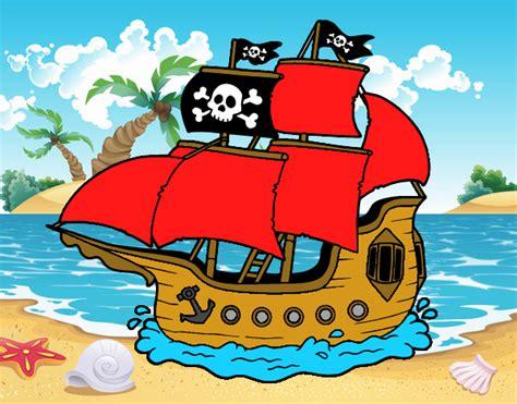 barco pirata dibujo de barco pirata pintado por en dibujos net el d 237 a