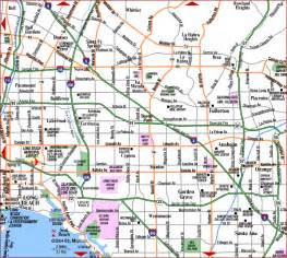 orange county map california