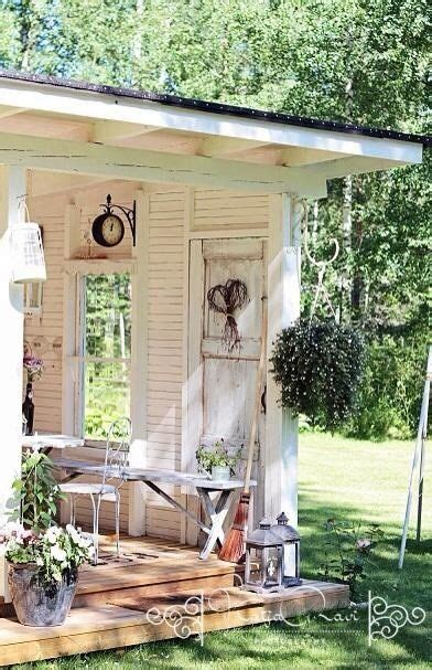 shabby chic garden shed pictures photos and images for