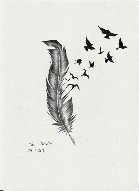birds of a feather tattoo design feather bird drawings feather by talucifer on