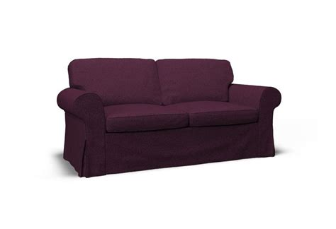 sofa seat ektorp two seat sofa cover event violet by covercouch