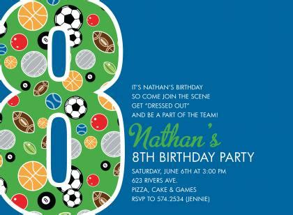 8th birthday invitation templates 8th birthday celebration quotes quotesgram