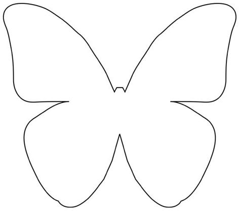butterflies templates to print diy beautiful butterfly decoration from templates