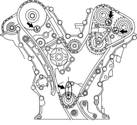 Suzuki Timing Chain Replacement Repair Guides Engine Mechanical Components Timing