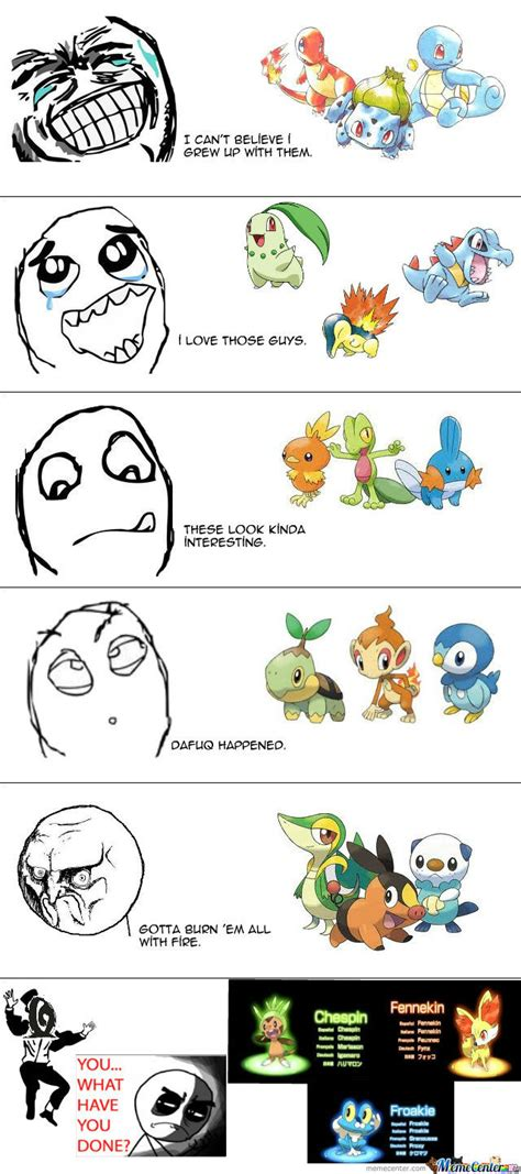 Generation Memes - pokemon 6th generation by themoonzone meme center