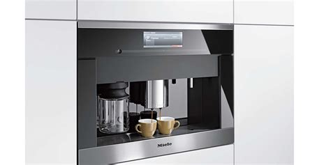 Miele Integrated Coffee Machine with M Touch   EuroAppliances   Kitchen Appliances