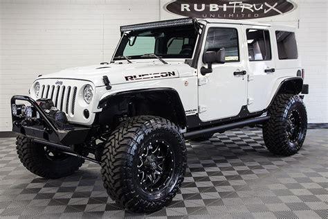 All White Jeep Rubicon 2017 Jeep Wrangler Rubicon Rock Unlimited White