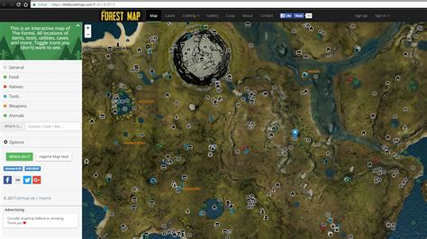 The Of The Forest by The Forest Interactive Map And Mod With Jonas