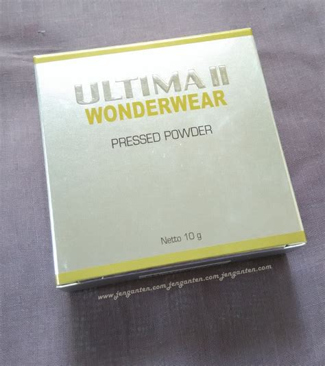 Foundation Bedak Ultima review ultima ii wonderwear pressed powder land of