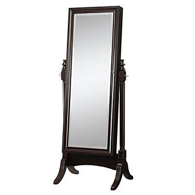 Jewelry Armoire Standing Mirror by Standing Mirror In And On