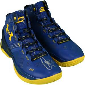 golden state warriors color shoes stephen curry golden state warriors autographed curry 2