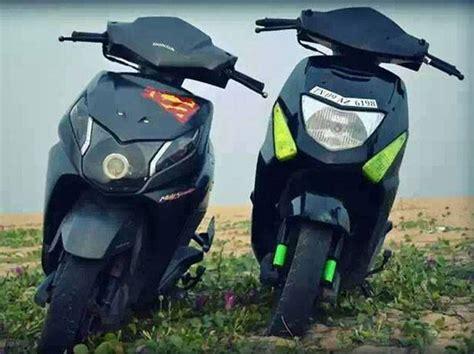 Modification Honda Dio by Honda Dio Black Modified