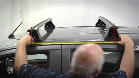 How To Remove Rhino Roof Racks by Rhino Rack How To Fit Vortex 2500 Roof Rack Systems