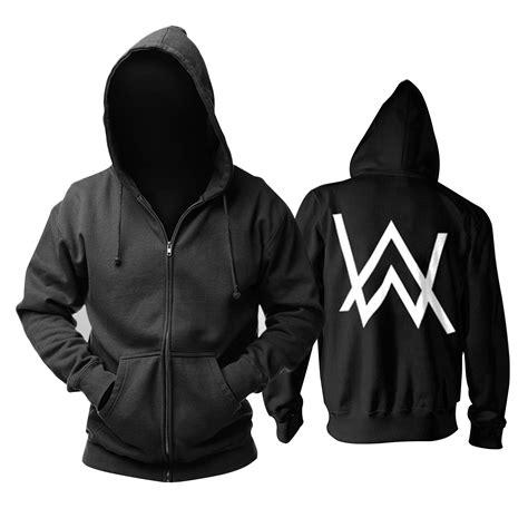 Kaos Alan Wolker Black fade alan walker hoodie