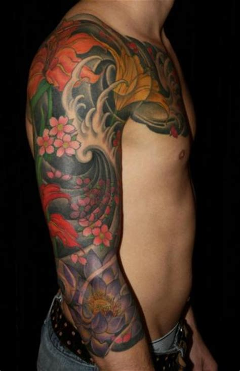 arm japanese tattoo by inborn tattoo