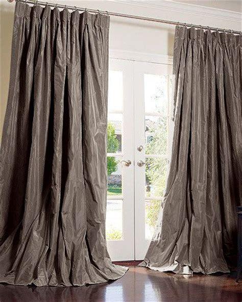 taffeta silk curtains best 20 silk curtains ideas on pinterest french