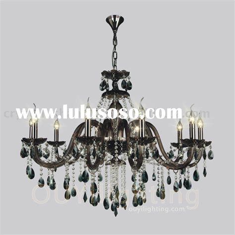 Photos Black Crystal Chandelier Lighting Black Black Chandelier With Crystals