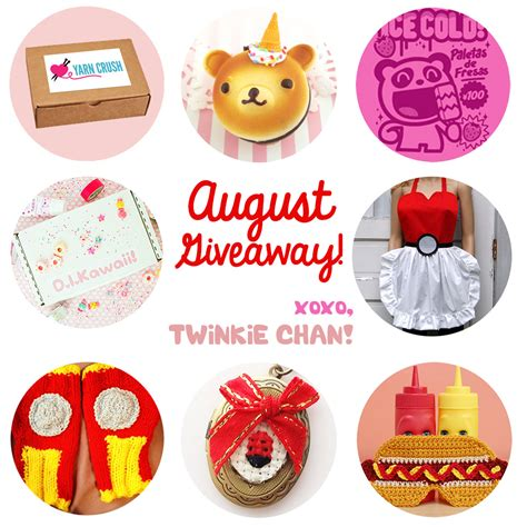 August Giveaway - august blog sponsor giveaway twinkie chan blog