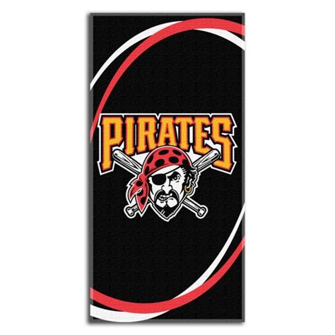 pittsburgh pirates bedding pittsburgh pirates mlb 30 quot x 60 quot terry beach towel