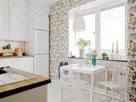 colorful wallpaper for kitchen ideas para decorar las paredes de tu cocina
