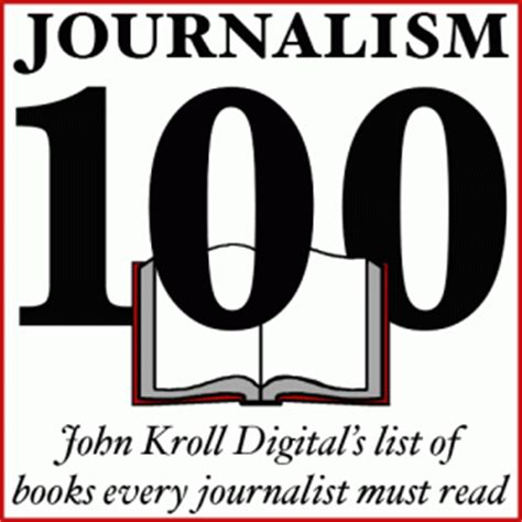 Journalism Books by 100 Books Every Journalist Must Read Kroll Digital
