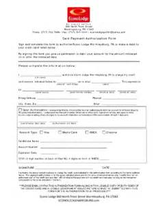 Hotel Credit Card Authorization Form Template by Credit Card Payment Authorization Template Forms And