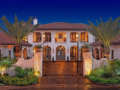 spanish mediterranean architecture spanish hacienda house plans historical