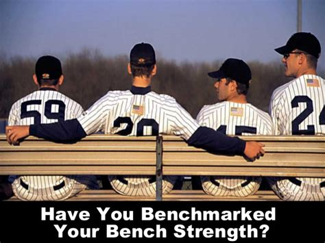 bench strength enhance performance by benchmarking your bench strength
