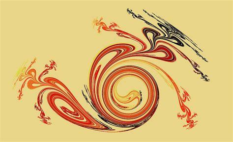 Calligraphy Digital Art by Anastasiya Malakhova