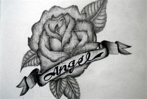 rose tattoo with names designs with names www pixshark images