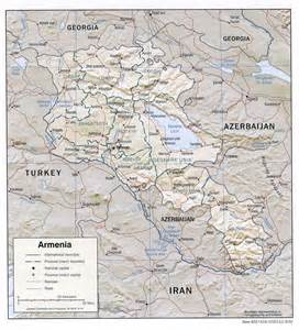 Armenia World Map by Armenia