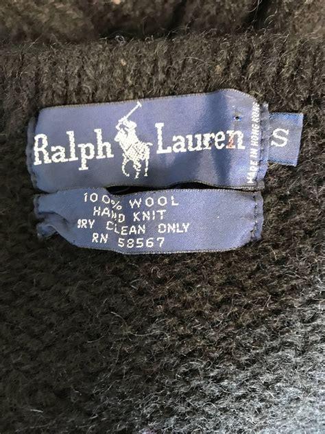 rare vintage ralph lauren blue label intarsia novelty duck