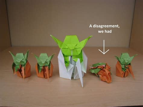 How To Make The Real Origami Yoda - origami yoda beginnings by acexpression on deviantart