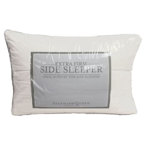Pillow Firmness For Side Sleepers by Firm Density Side Sleeper Pillow