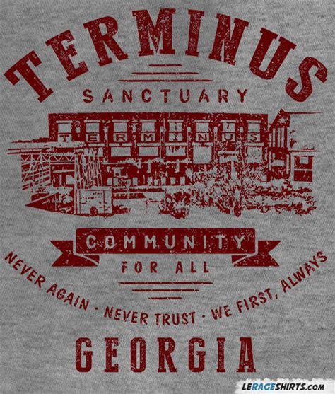 the terminus terminus the walking dead t shirt