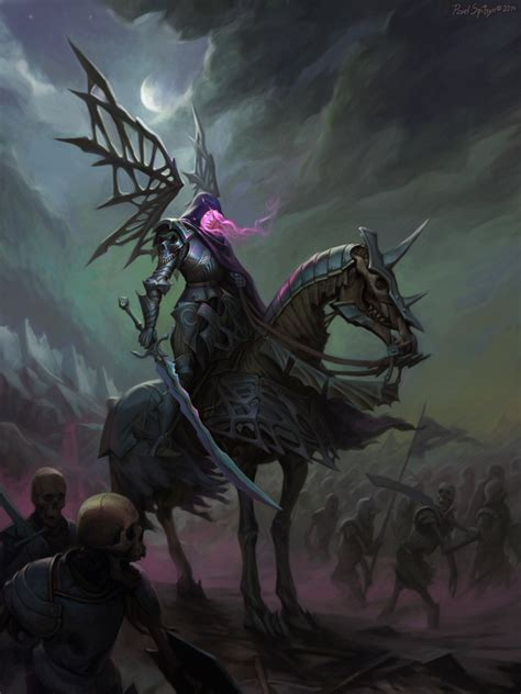 spectral knight by cg zander on deviantart