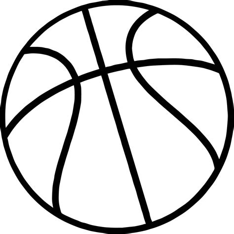 coloring pages with basketball just basketball ball coloring page wecoloringpage