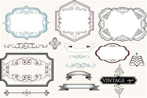 label design templates vector vintage labels free vector in adobe illustrator ai ai