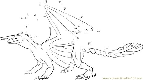 dot to dot dragon printables false dragon dot to dot printable worksheet connect the dots