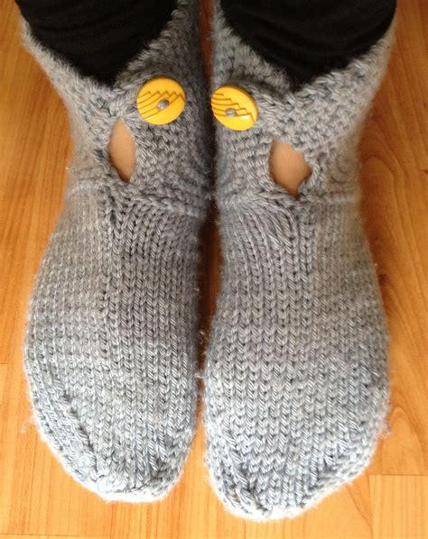 knitting pattern simple slippers easy slipper knitting patterns in the loop knitting