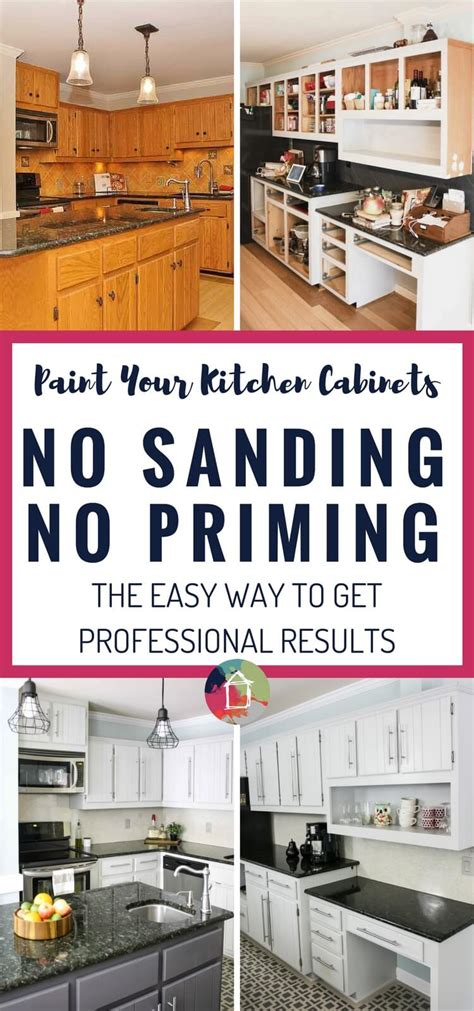 can you paint kitchen cabinets without removing them how to paint kitchen cabinets no painting sanding